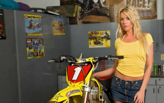 мотоцикл, rockstar, девушек
