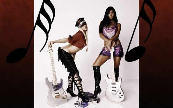 mobilnogo, pussycat, devushki, dolls, гитаристки, бесплатные, adams, бренден,