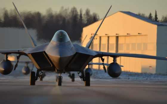 raptor, самолёт, air, сила, военный, martin, action,
