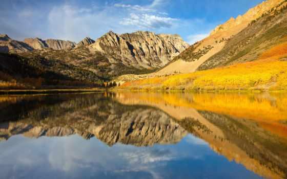 озеро, mountains, north, nevada, sierra, eastern, california, природа, desktop,