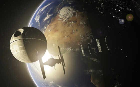 star, wars, войны, звездные, fantasy, смерть, смерти, cosmos, ecran, fonds,
