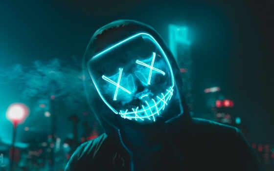 маска, вести, purge, sign, neon, cry, kaufen, life, join