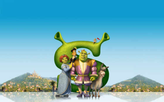 shrek, third, far, zum, kinofilm, movie, медиа, poster, hörspiel, orig,
