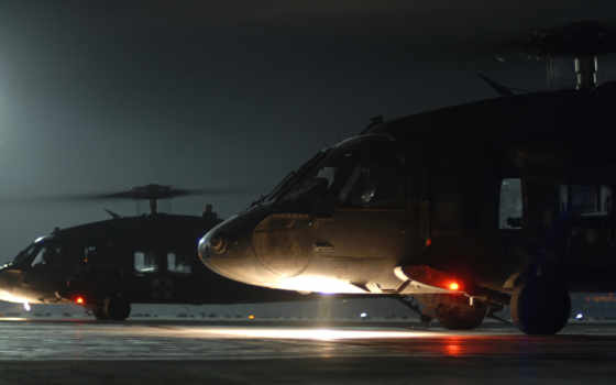 вертолет, лопасти