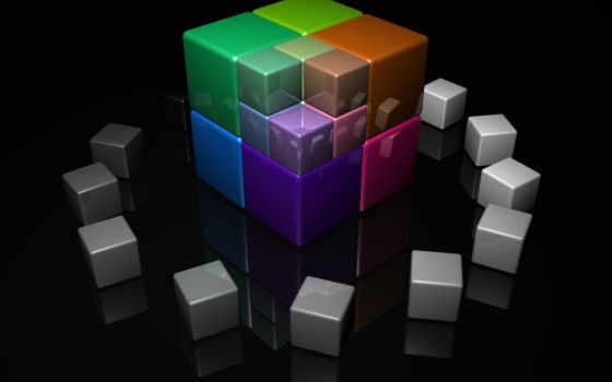 красивые, color, рубика