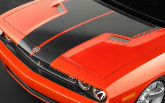 challenger, dodge, капюшон, shaker, concept, car, muscle, scoop, hemi,