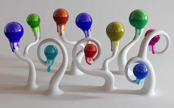 разноцветные шарики Фон № 20526 разрешение 1920x1080