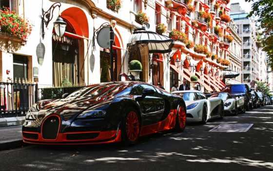 bugatti, париж, франция