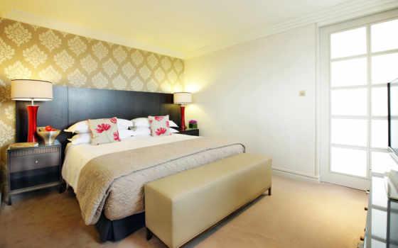 quarto, uma, design, мебель, спальню,
