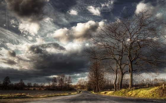 пейзажи -, landscape, dark