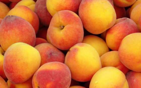 peaches, плод, fruits, макро,
