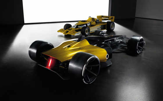 renault, concept, формулы, болида, vision,