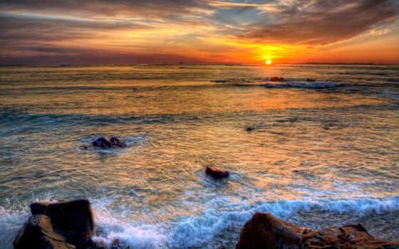 закат, alderney, guernsey, sziget, остров, канал, sun
