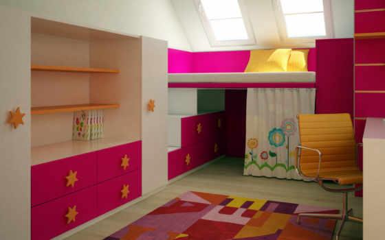 комнаты, детские, детской