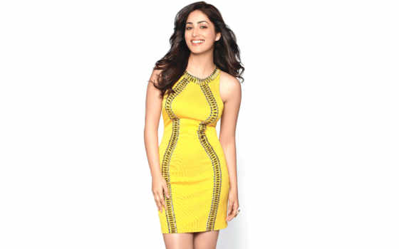yami, gautam, платье, photos, high, yellow, wide,