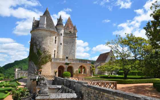 castle, puzzle, lomovolga, french, online, views, франция,