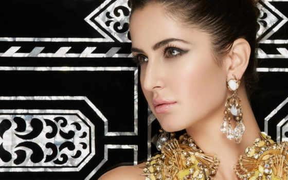kaif, katrina, индийская, актриса, страница, красивая, дорогих, украшениях,