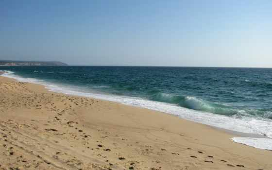 берег, море