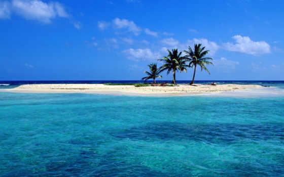 природа, пляж, belize