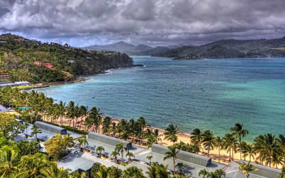 widescreen, пляж, free
