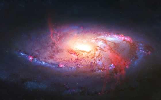 galaxy, звезды, nebula