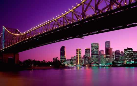 австралия, brisbane, state, австралии, queensland, город,
