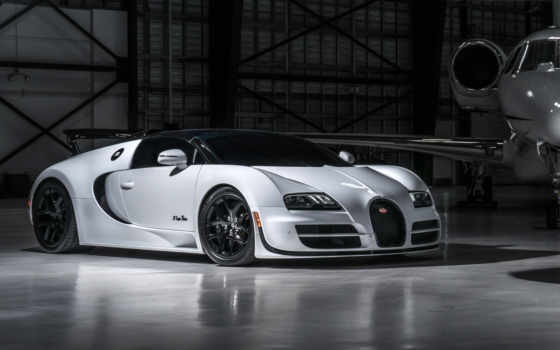 bugatto, veyron, спорт, vitesse, grand, white, roadster