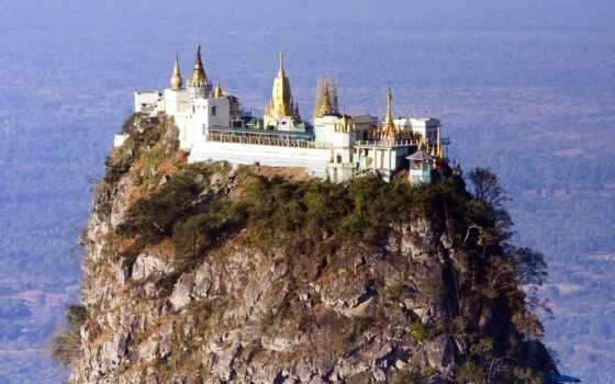 горы, priroda, бирма