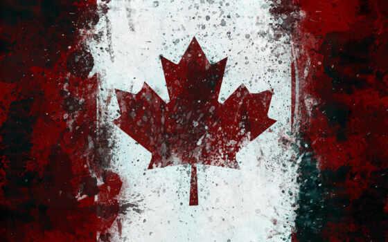 канада, флаг, maple