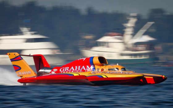 лодка, hydroplane, unlimited