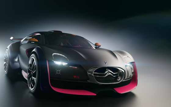 car, citroen, black, pinterest, survolt, concept, об, more,