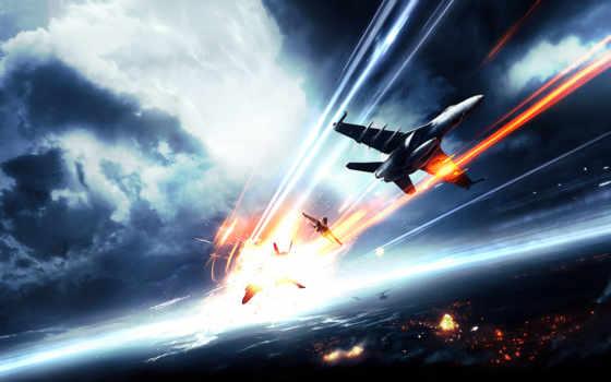 battlefield, истребители, авиация