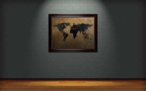 картинка, стена, dark, world, браун, стене,