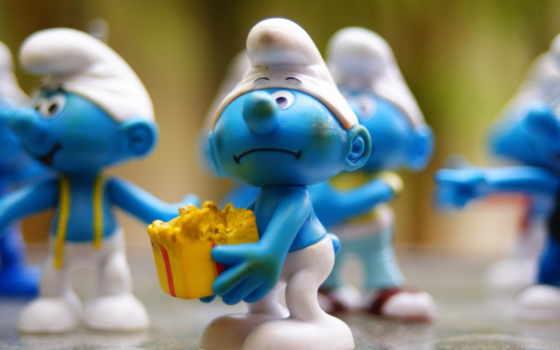 smurfs, gifts