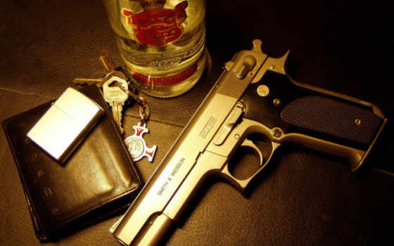 пістолет, smirnoff, ствол,