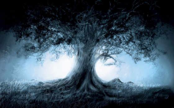 water, trees, heaven, desktop, дерево, stitch, ago,