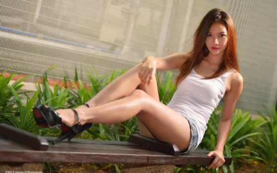 legs, модель, long, women, asian, волосы, торрент, разное, flickr, warren,