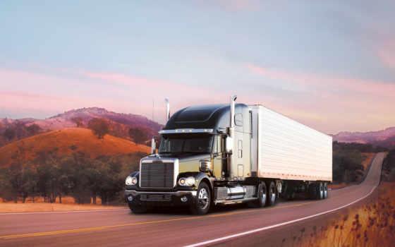 freightliner, coronado, semi, triad, trucks, truck,