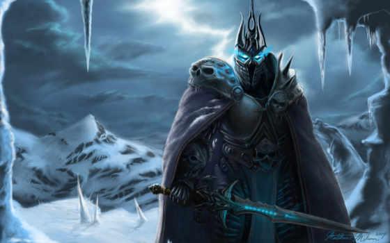 король, лич, lịch, warcraft, world, артас, короля, принц, лича, его,