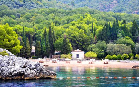 montenegro, пляж, rozl