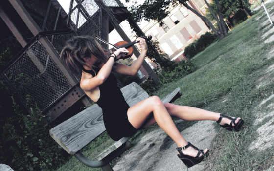 разные, collector, мар, темы, скрипка, музыка, девушка, широкоформатных, коллекция,