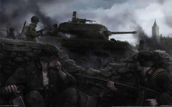 игры, военные, танки, красивые, art, zoom, dum, therobthunder, фото, fonds,
