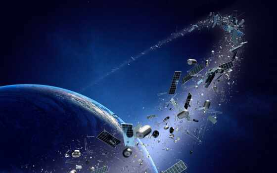 орбита, cosmic, космос, спутник, мусор, company, land, который, russian