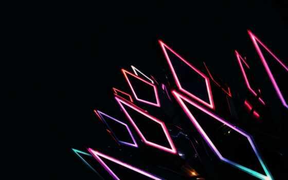 neon, pro, max, телефон, mobile, ромб, подсветка, late, multicolor