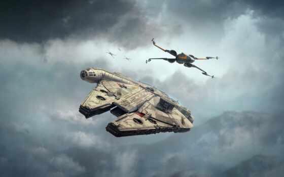 крыло, war, millennium, falcon, star, расширение, miniature, game, resistance, second, lando