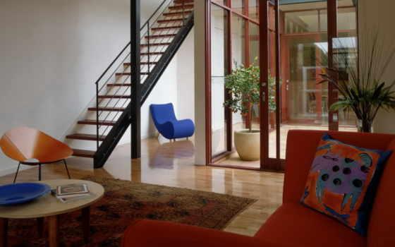 corrimão, escada, design