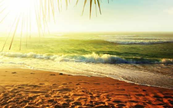 море, песок, пляж Фон № 90820 разрешение 2560x1600