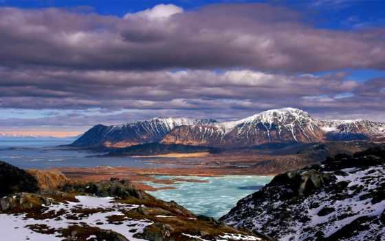 montañas, paisajes, nieve, invierno, naturaleza, nevadas, gratis, toneladas, calidad, cielo,