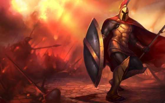 pantheon, myrmidon, воин, fantasy, art, league, legends, битва, ruthless,