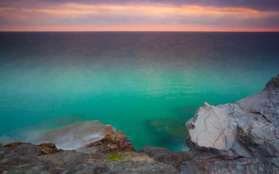 ocean, desktop, tasnima, горизонт, рассвет, papel,